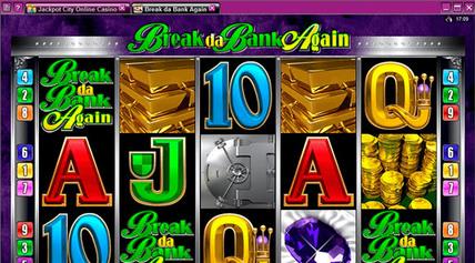 Jackpotcity - Break Da Bank Again screen-shot on mobile