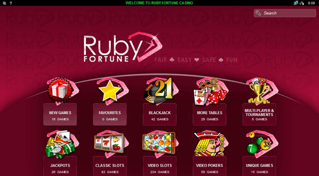 Rubyfortune - Lobby View