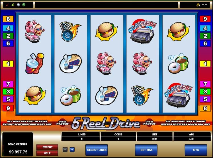 5 Reel Drive - sreenshot #2
