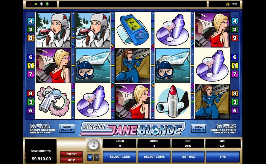 Agent Jane Blonde - sreenshot #2