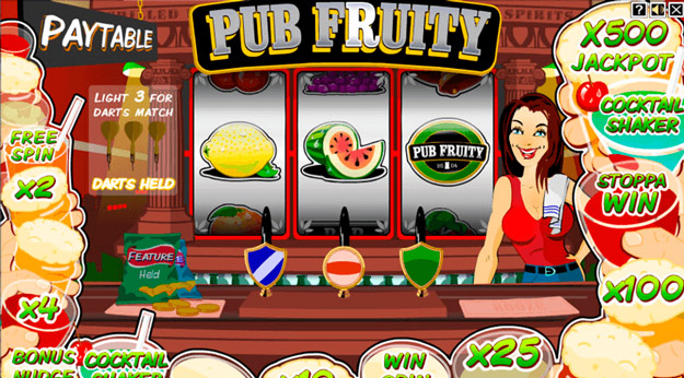 Luckynugget - Pub Fruity